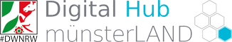 Logo des DigitalHub MünsterLAND