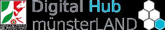 Logo des DigitalHub MünsterLAND