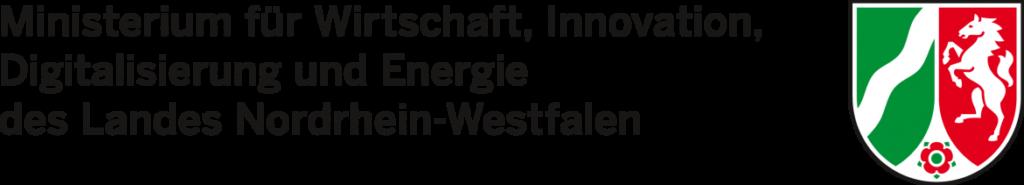 Logo des Ministeriums für Wirtschaft, Innovation, Digitalisierung und Energie des Landes Nordrhein-Westfalen