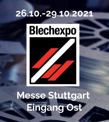 Logo Blechexpo Stuttgart 2021